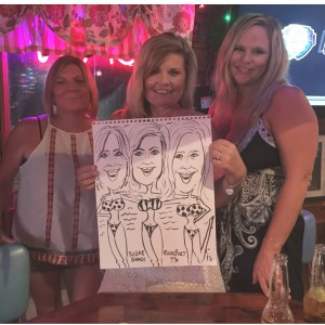 Caricatures in Minutes - Caricaturist in Rockport, Texas
