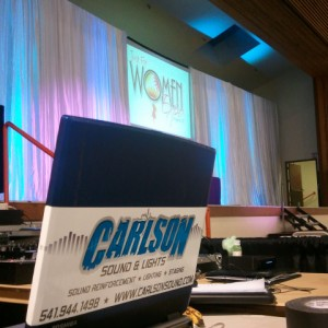 Carlson Sound and Light - Sound Technician in Central Point, Oregon