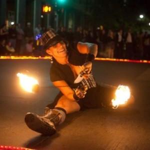 Caroleeena - Fire Dancer in Raleigh, North Carolina