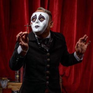 Chris Herren as Faust - Magician in Benicia, California