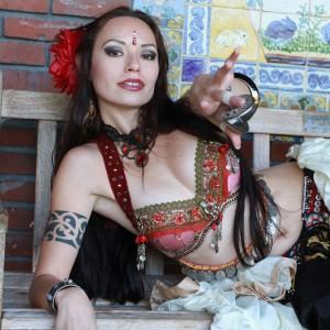 Christina Sirmons - Belly Dancer in San Diego, California
