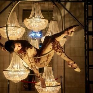 Cirque Du Nuit - Aerialist / Airbrush Artist in New York City, New York