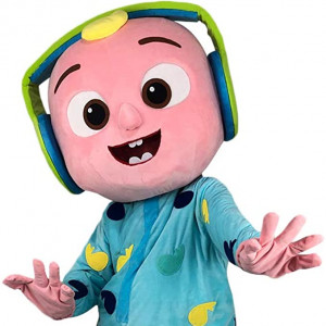Cocomelon JJ Mascot Rental - Costume Rentals / Costumed Character in Raleigh, North Carolina
