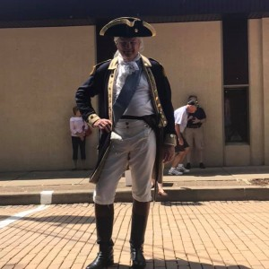 Col. George Washington - Historical Character in Latrobe, Pennsylvania