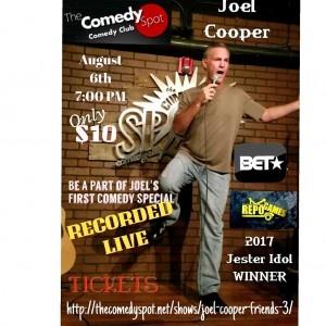 Comedian Joel Cooper - Comedian in Phoenix, Arizona