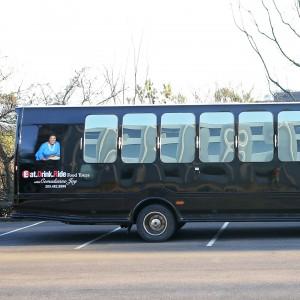 Comedienne JOY the Queen of Clean - Party Bus in Birmingham, Alabama