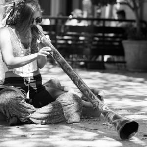 Stillness in Motion - Didgeridoo Player in Roseburg, Oregon
