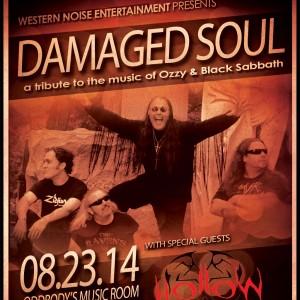 Damaged Soul: Tribute to Ozzy & Black Sabbath - Black Sabbath Tribute Band in Dayton, Ohio