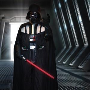 Darth Vader impersonator