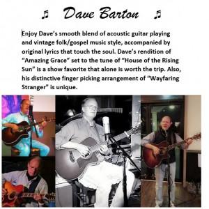 Dave Barton - Singing Guitarist in Asheville, North Carolina
