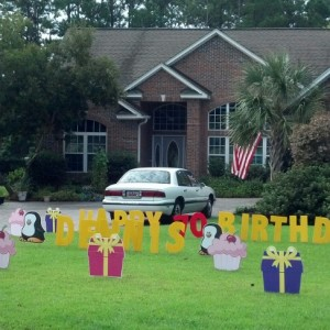 Dazzling Decorations All Occasion Lawn Art - Event Planner in Myrtle Beach, South Carolina