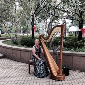 Debbie Beck,  Harpist