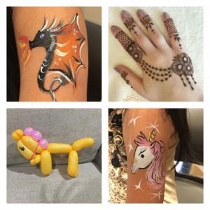 Divyas henna and face painting - Henna Tattoo Artist in San Jose, California