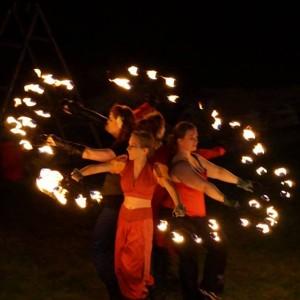 Fire Light Circus - Fire Dancer in Seattle, Washington