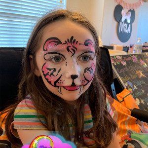 Dreams in Technicolor Face Painting