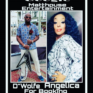 """D""""Wolfe & Angelica ( Jelly from da 504) - Blues Band in New Orleans, Louisiana"""