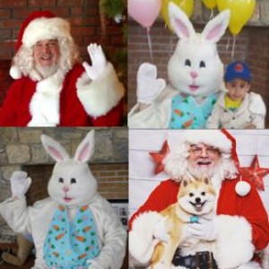 Ed McCarty's Characters - Santa Claus in Bridgewater, New Jersey