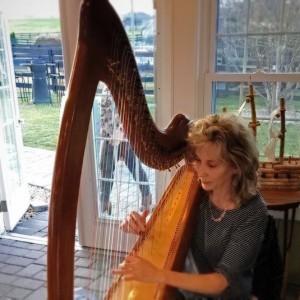 ElFan Harp - Harpist / Civil War Reenactment in Crozet, Virginia