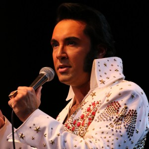Eli Williams as ELVIS - Elvis Impersonator / Singing Telegram in Pigeon Forge, Tennessee