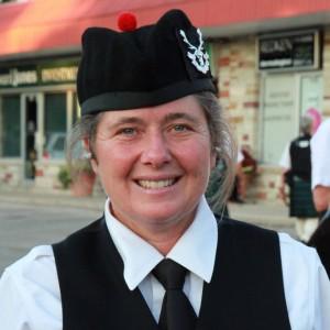 Elise MacGregor Ferrell - Bagpiper in Santa Cruz, California
