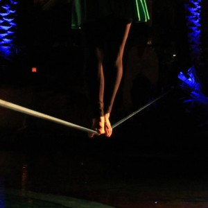 Slackline Dynamics - Balancing Act / Tightrope Walker in Sedona, Arizona