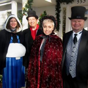 Encore at Christmas - Christmas Carolers in Sacramento, California
