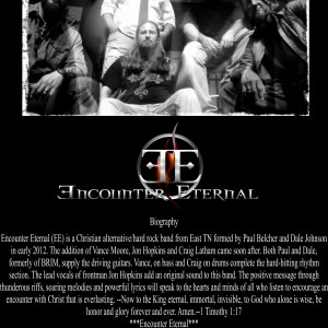 Encounter Eternal - Christian Band in Knoxville, Tennessee