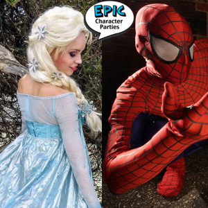 Epic Character Parties - Costumed Character / Singing Telegram in San Diego, California