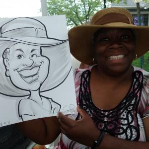 Ernest Posey Caricatures - Caricaturist in Flossmoor, Illinois