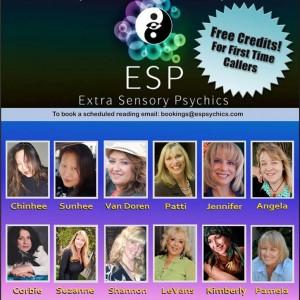 ESPsychics - Psychic Entertainment in Los Angeles, California
