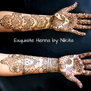 Exquisite Henna by Nikita - Henna Tattoo Artist in Farmington, Michigan