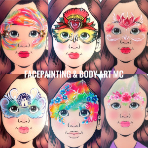 Face Painting Art by MC - Face Painter / Balloon Twister in Oceanside, California