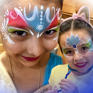 Face Painting by Akiko
