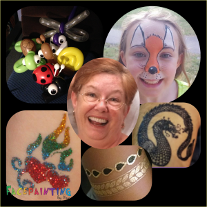 Face Paint, Temp Tats, and Balloons by Sue - Face Painter / Balloon Twister in Palm Harbor, Florida