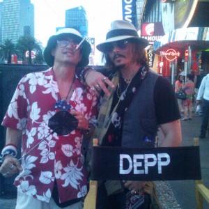 Faces of Depp. - Johnny Depp Impersonator in Las Vegas, Nevada