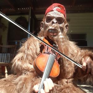Fiddlin' Squatch - Costumed Character in Portland, Oregon