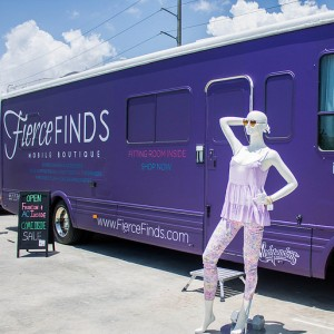 Fierce Finds Mobile Boutique - Party Bus in Boca Raton, Florida