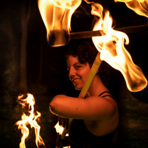 Fiercely Serene - Fire Dancer in Cleveland, Ohio