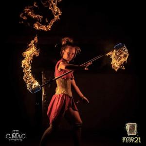 Elle Mental - Fire Dancer in Houston, Texas