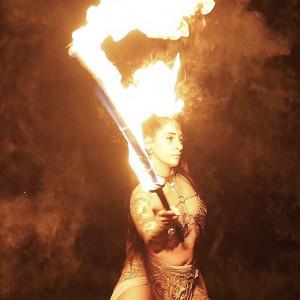 Fire Performance Art - Fire Dancer in Montclair, New Jersey