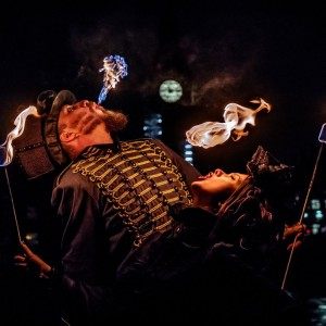 Flamewater Circus - Fire Eater in Montreal, Quebec