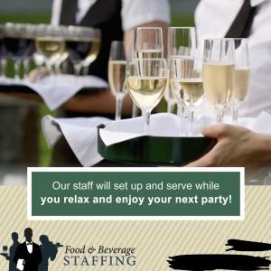 Food and Beverage Staffing LLC - Waitstaff / Bartender in Cambridge, Massachusetts