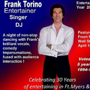 Frank Torino - Variety Entertainer in Fort Myers, Florida