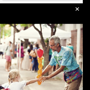 Funny Face - Balloon Twister in Birmingham, Alabama