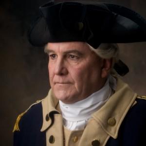 George Washington - Historical Character in San Bernardino, California