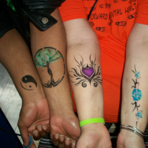 Get Painted - Temporary Tattoo Artist / Face Painter in Akron, Ohio