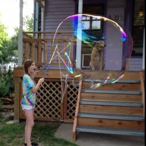 Giant Bubbles - Bubble Entertainment / Children's Party Entertainment in Lawrence, Kansas