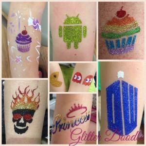 Glitter Doodle - Temporary Tattoo Artist / Face Painter in Scranton, Pennsylvania