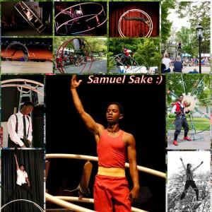 Gym Wheel Performances by Samuel Sake - Acrobat in Chicago, Illinois