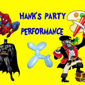 Hank's Party Performance - Children's Party Entertainment in Long Beach, California